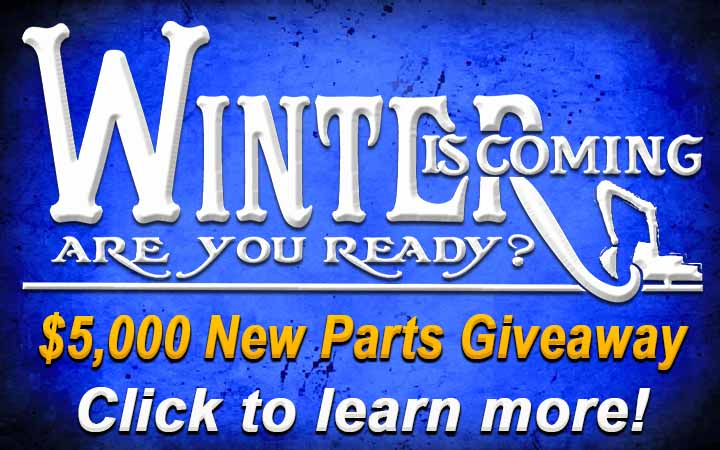 Win $5000 to spend on equipment parts